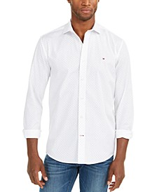 Men's Norton Print Shirt, Created For Macy's