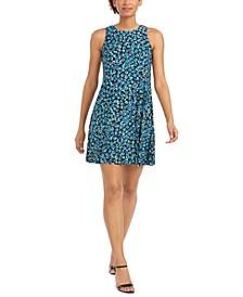 Gwen Printed A-Line Dress