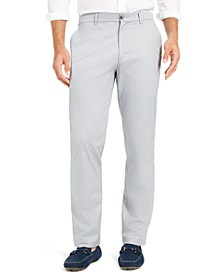 Men's AlfaTech Classic-Fit Chino Pants, Created for Macy's