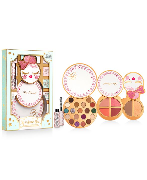 Too Faced 4-Pc. Let It Snow, Girl! Palette Set