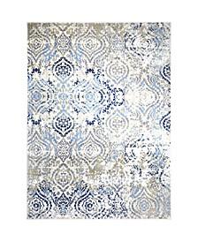 "Global Rug Design Barstow BAR01 Ivory 7'10"" x 10'2"" Area Rug"