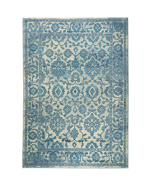 "Global Rug Designs CLOSEOUT! Global Rug Design Venus VEN07 Ivory 7'9"" x 10'2"" Area Rug"
