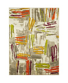 "Global Rug Design Sanu BUR11 Gray 9'2"" x 12'5"" Area Rug"