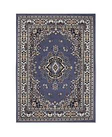 "Global Rug Design Choice CHO13 Blue 9'2"" x 12'5"" Area Rug"