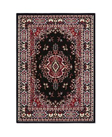 "Global Rug Design Choice CHO13 Black 9'2"" x 12'5"" Area Rug"