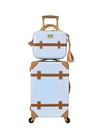 "Gatsby 2-Pc. 20"" Carry-On and Beauty Case Set"
