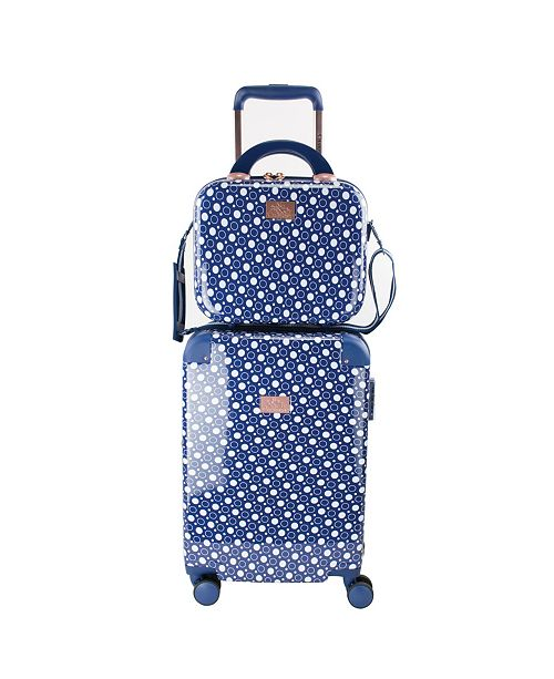 """Chariot Dotty 2 Piece 20"""" Carry-On and Beauty Case Set"""