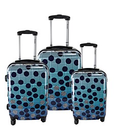 Ombre 3-Piece Hardside Luggage Set