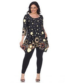 Plus Size Tunic Tops: Shop Plus Size Tunic Tops - Macy\'s