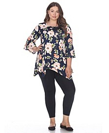 Plus Size Blanche Tunic /Top