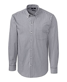 Men's Long Sleeve Stretch Gingham Shirt