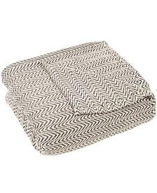 Baldwin Home Chevron Full/Queen Luxury Soft Blanket