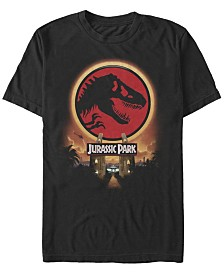 Jurassic Park Men's Welcome Gates Logo Short Sleeve T-Shirt