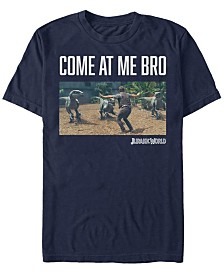 Jurassic World Men's Come At Me Bro Short Sleeve T-Shirt