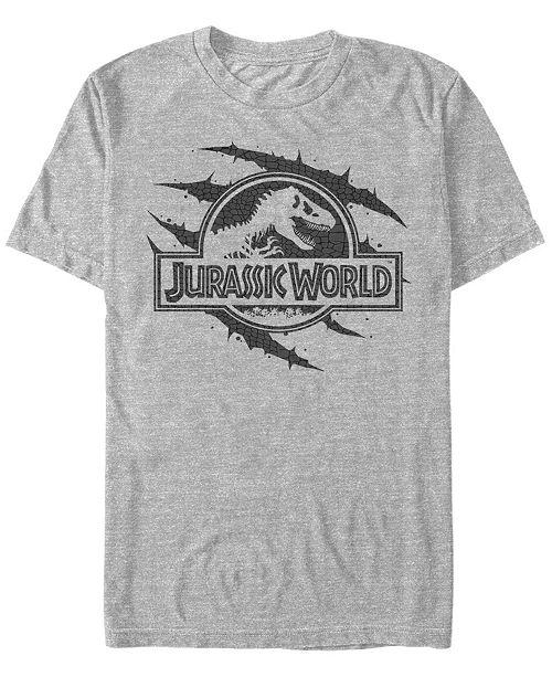 Jurassic World Men's T-Rex Bite Short Sleeve T-Shirt