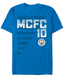 Manchester Football Men's Club On The Field Number 10 Short Sleeve T-Shirt