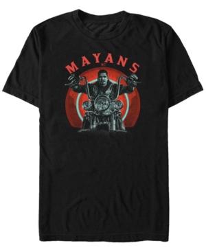 Men's M.c Geometric Ez Biker Short Sleeve T-Shirt
