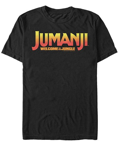 Jumanji 1995 Sony Men's Welcome To The Jungle Logo Short Sleeve T-Shirt