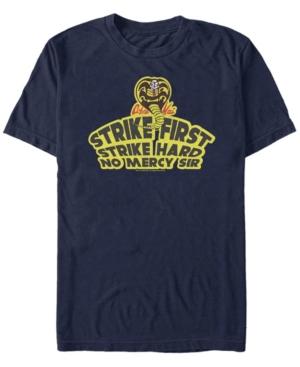 Sony Men's The Karate Kid Strike First Short Sleeve T-Shirt