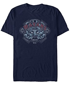 Mayans Men's M.C Classic Airbrushed Ancient Symbol Short Sleeve T-Shirt
