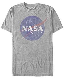 Men's Vintage-Like Faded Logo Short Sleeve T-Shirts