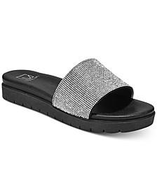 Women's Safirah Flat Thong Sandals, Created For Macy's