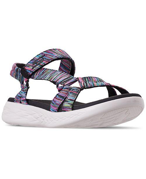 Skechers Women's On The Go Dazzling Sport Athletic Sandals