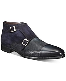 Men's Double Monk Strap Boots