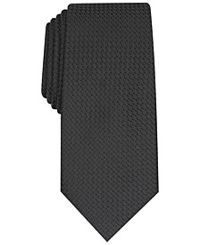 Men's Slim Textured Tie, Created For Macy's