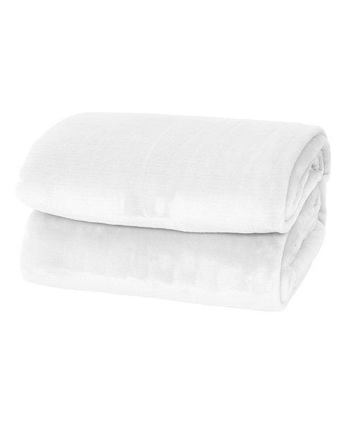 Elle Decor Silky Soft Thick Plush Blanket - King
