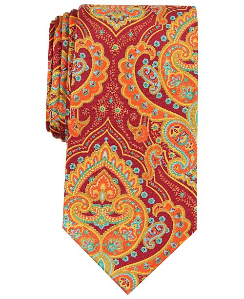 Perry Ellis Men's Retzler Paisley Tie