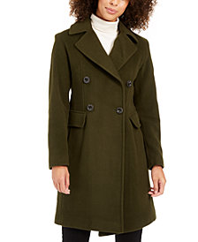 Anne Klein Double-Breasted Coat