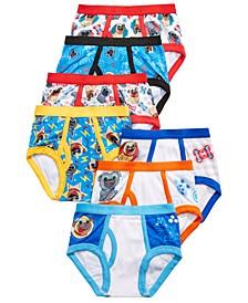 Toddler Boys 7-Pk. Puppy Dog Pals Cotton Briefs