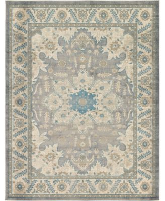 Bellmere Bel2 Gray 7' x 10' Area Rug