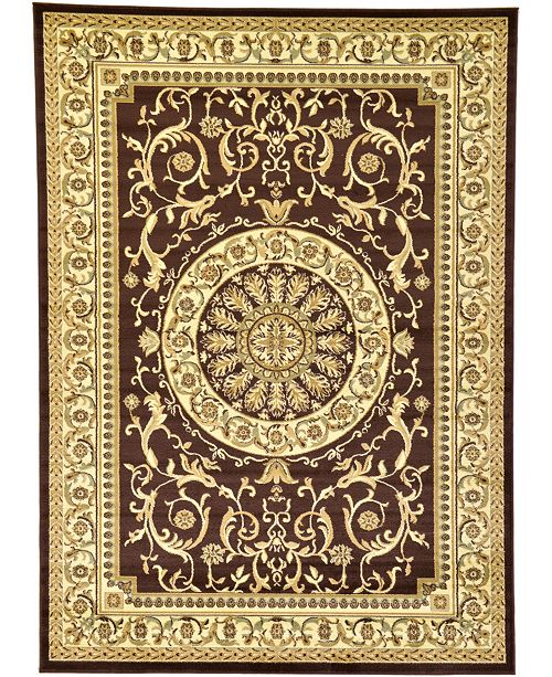 Bridgeport Home Belvoir Blv2 Brown Area Rug Collection