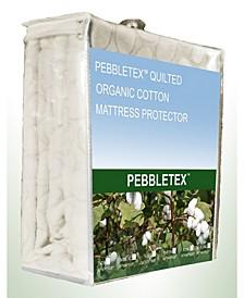 Pebbletex Organic Cotton Full Mattress Protector