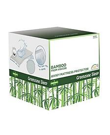 Bamboo Jersey Mattress Protector- California King