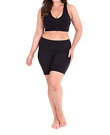 Sonsee Woman Plus Size Anti-Chafing Shorts Short Leg
