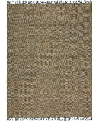 Braided Tones Brt3 Natural/Black 8' x 10' Area Rug