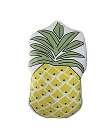 Pineapple Shaped Plush Fleece Throw Pillow - Polyester