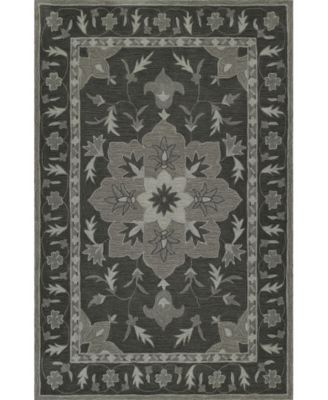 CLOSEOUT! Torrey Tor4 Charcoal 5' X 7'6 Area Rugs