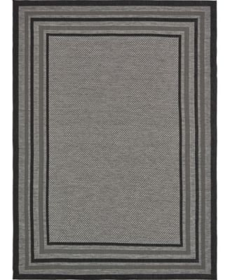 Pashio Pas6 Gray 9' x 12' Area Rug