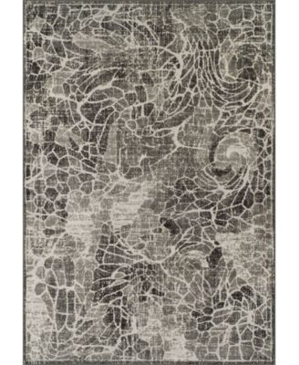 CLOSEOUT! Logan Lo1 Pewter 5'3 X 7'7 Area Rugs