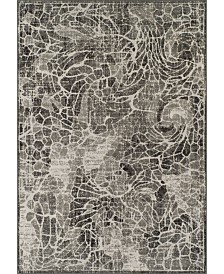 D Style Logan Lo1 Pewter Area Rugs Collection