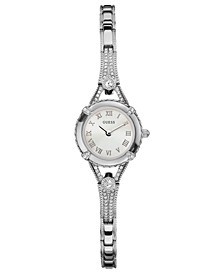 Watch, Women's Silver Tone Bracelet 22mm U0135L1
