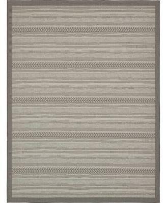 Pashio Pas4 Gray 9' x 12' Area Rug
