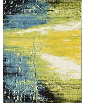Pari Par1 Light Green 8' x 10' Area Rug
