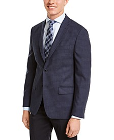 Men's Classic-Fit Check Sport Coat