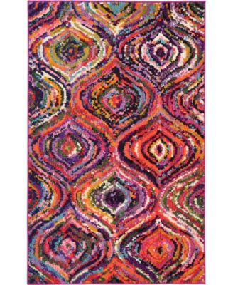 Newwolf New1 Multi 8' x 8' Round Area Rug