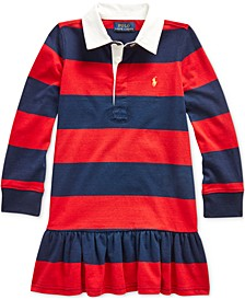 Toddler Girls Rugby Jersey Dress
